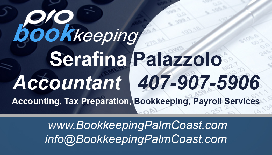 Bookkeeping Pro Services - Business Card